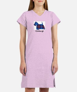 Terrier - Edinburgh dist. Women's Nightshirt