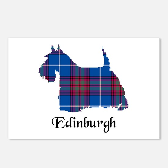 Terrier - Edinburgh dist. Postcards (Package of 8)