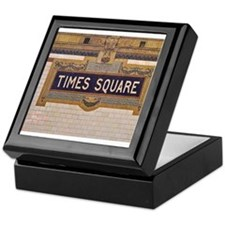 Times Square Subway Station Keepsake Box