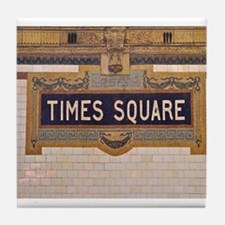 Times Square Subway Station Tile Coaster