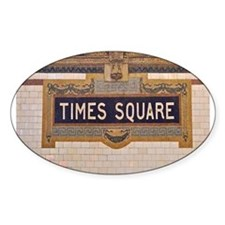 Times Square Subway Station Decal