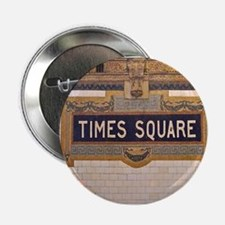 """Times Square Subway Station 2.25"""" Button (10 pack)"""