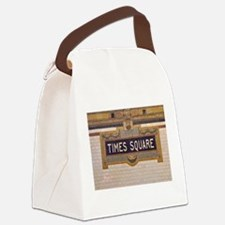 Times Square Subway Station Canvas Lunch Bag