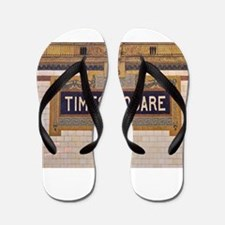 Times Square Subway Station Flip Flops