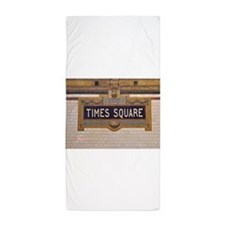 Times Square Subway Station Beach Towel