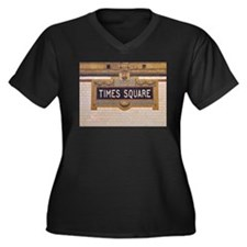 Times Square Subway Station Plus Size T-Shirt