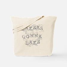 Cute Baker college Tote Bag