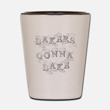 Cute Bakers Shot Glass