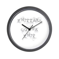 Cute Haters gonna hate Wall Clock