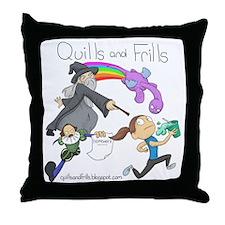Unique Blog funny Throw Pillow