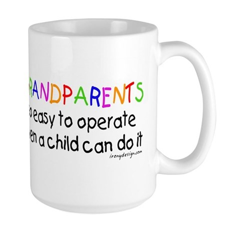Grandparents Large Coffee Mug