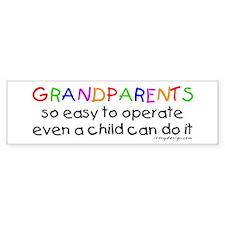Grandparents Bumper Bumper Sticker