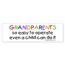 Grandparents Bumper Bumper Stickers