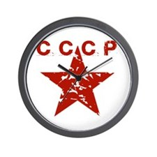 Unique Cccp Wall Clock