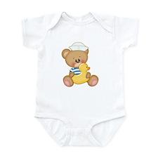 Bear With Duck Onesie Body Suit