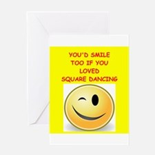 square dancing Greeting Cards