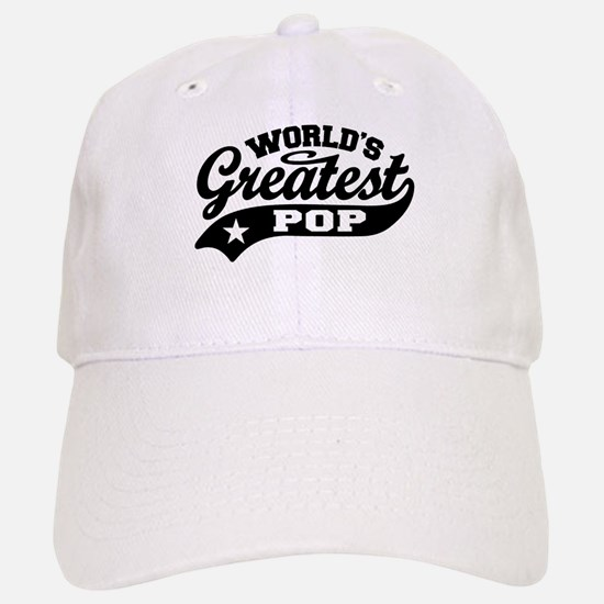 World's Greatest Pop Baseball Baseball Cap
