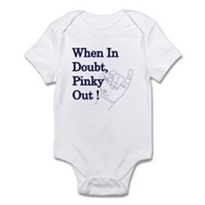 Pinky Out Infant Bodysuit