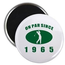 1965 Golfer's Birthday Magnet