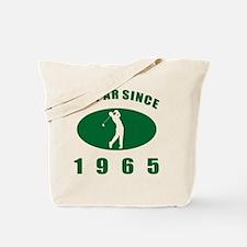 1965 Golfer's Birthday Tote Bag