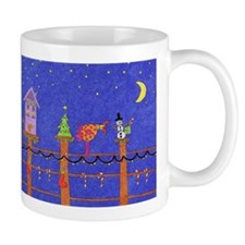 Home Tweet Home For The Holidays Mugs