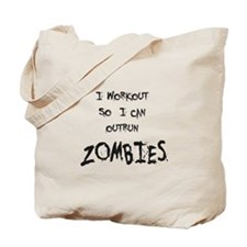 Outrun Zombies 2 Tote Bag