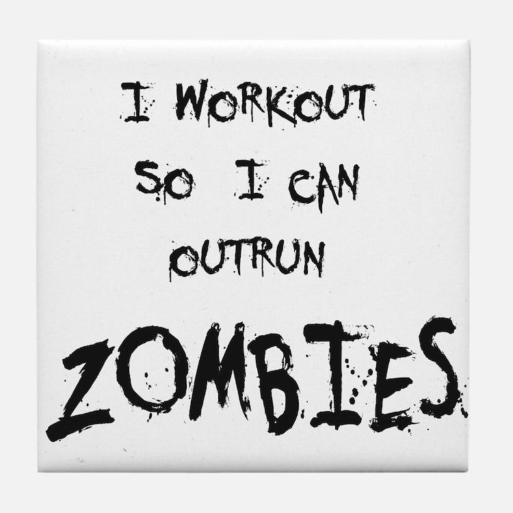 Outrun Zombies 2 Tile Coaster