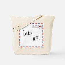 Let's Go! Tote Bag