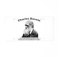 Darwin: Survival Aluminum License Plate