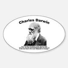 Darwin: Survival Sticker (Oval)