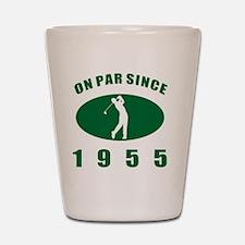 1955 Golfer's Birthday Shot Glass