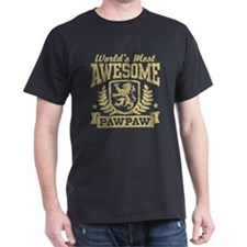 World's Most Awesome PawPaw T-Shirt