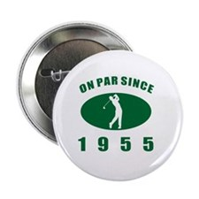 "1955 Golfer's Birthday 2.25"" Button"