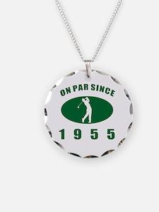 1955 Golfer's Birthday Necklace