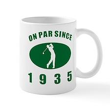 1935 Golfer's Birthday Mug