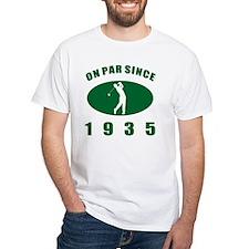 1935 Golfer's Birthday Shirt