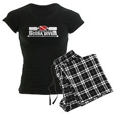 Certified Scuba Diver White Pajamas
