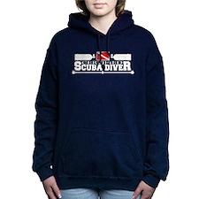 Certified Scuba Diver White Women's Hooded Sweatsh