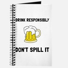 Drink Responsibly Journal