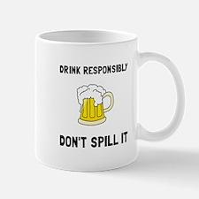 Drink Responsibly Mugs