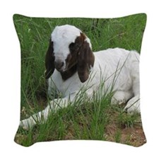 Baby Billy! Woven Throw Pillow