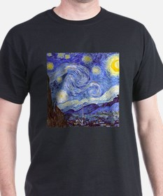 'The Starry Night' Van Gogh T-Shirt