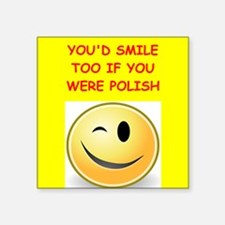 polish Sticker