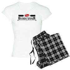 Certified Scuba Diver Black Pajamas