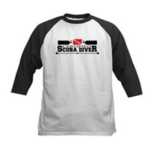 Certified Scuba Diver Black Baseball Jersey