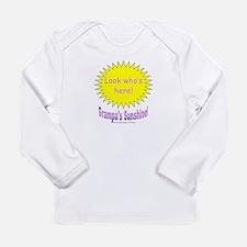Grampa's Sunshine Girl Long Sleeve T-Shirt