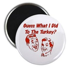 "Thanksgiving Crude Humor 2.25"" Magnet (100 pack)"