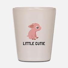Little Cutie Pig Shot Glass