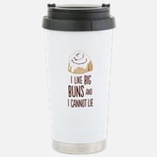 I Like Big Buns Stainless Steel Travel Mug