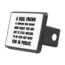 Real Friend Crazy Hitch Cover
